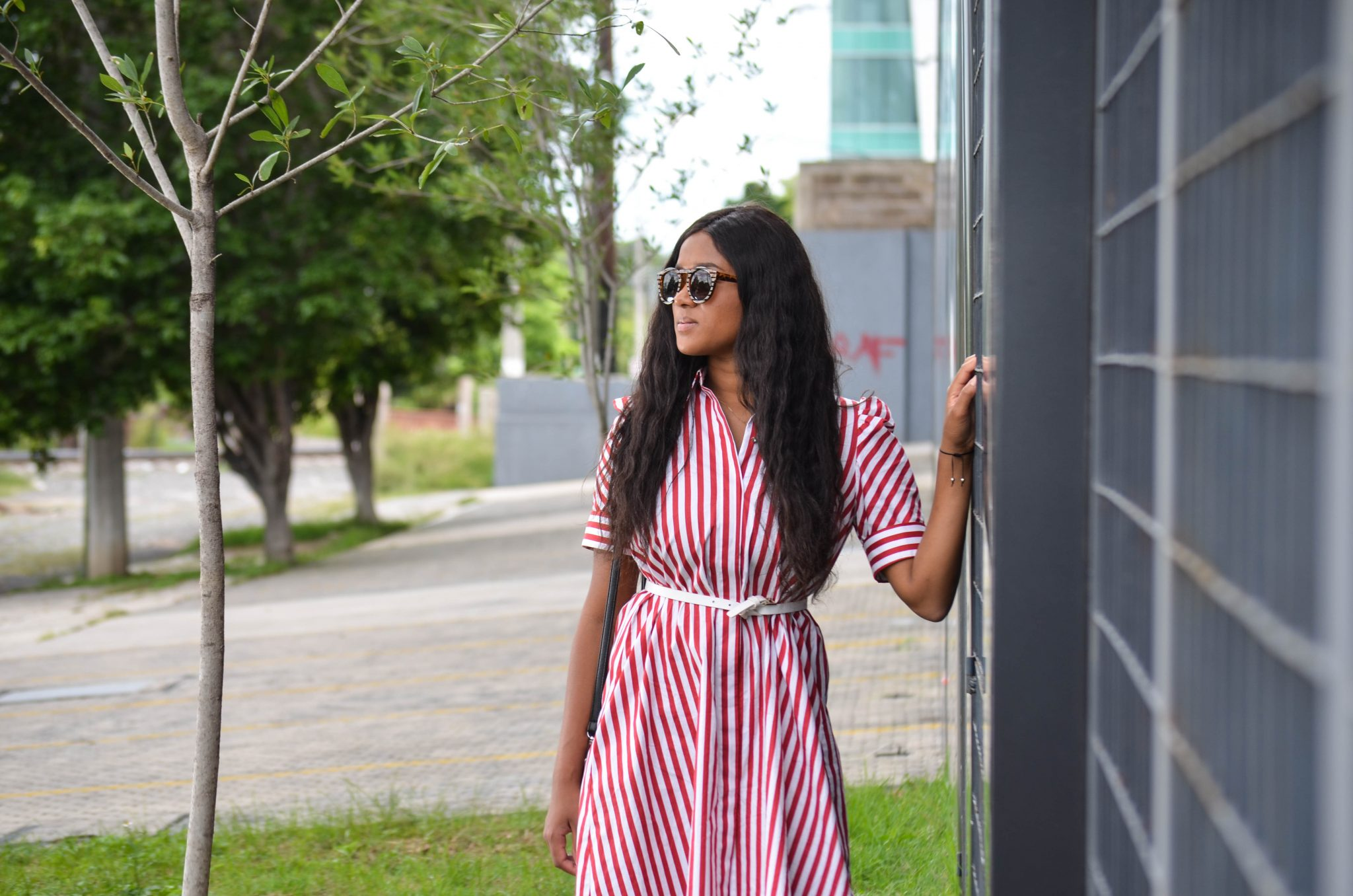 Stripe Hype – The Perfect Midi Dress