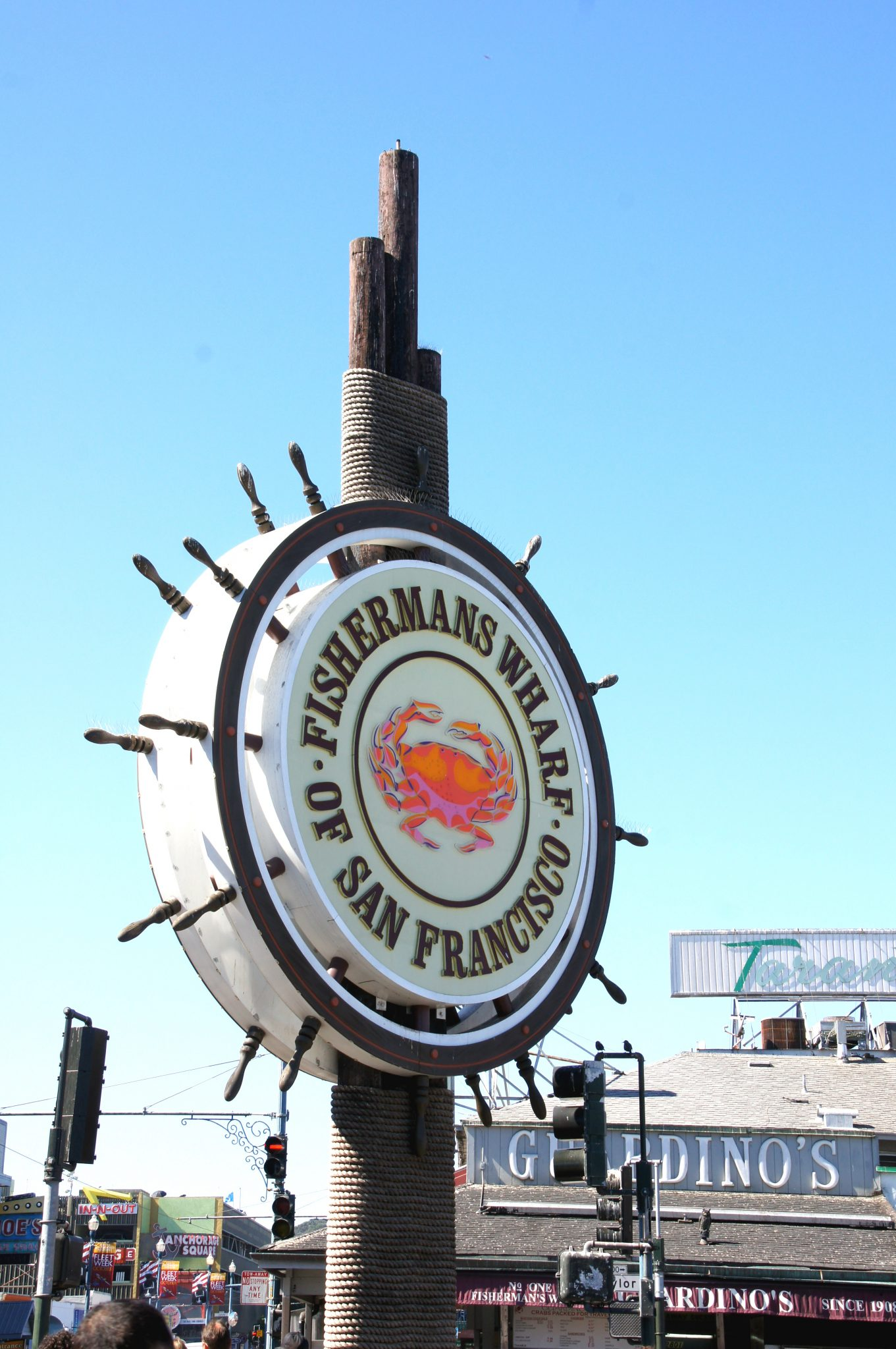 Sign of Fisherman's Wharf of San Francisco