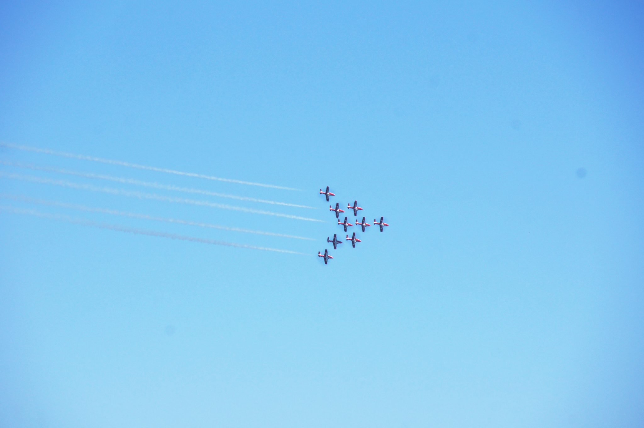 Blue Angels flying performance