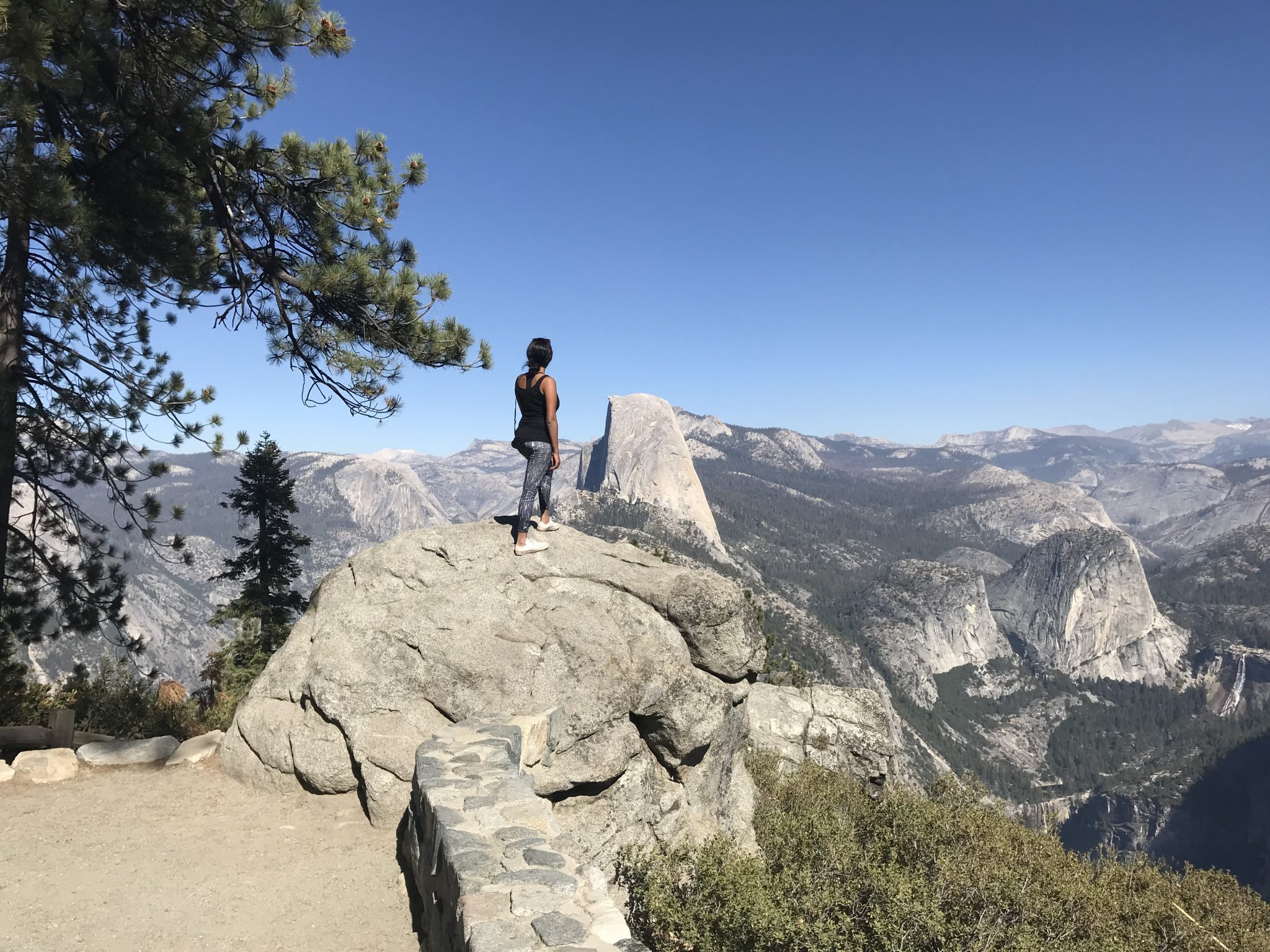me watching the Halfdome