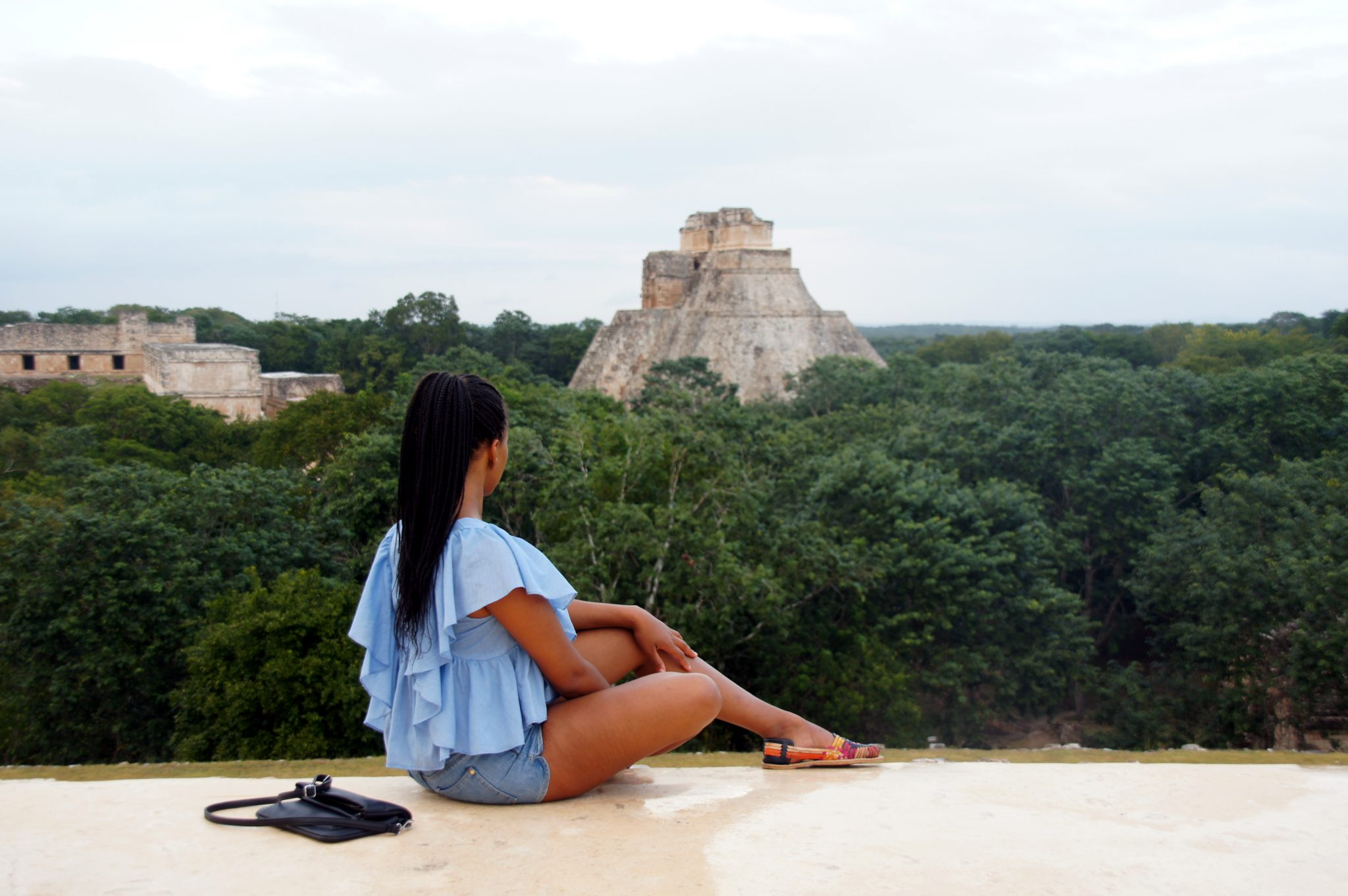 Ruine in Ummal Yucatan