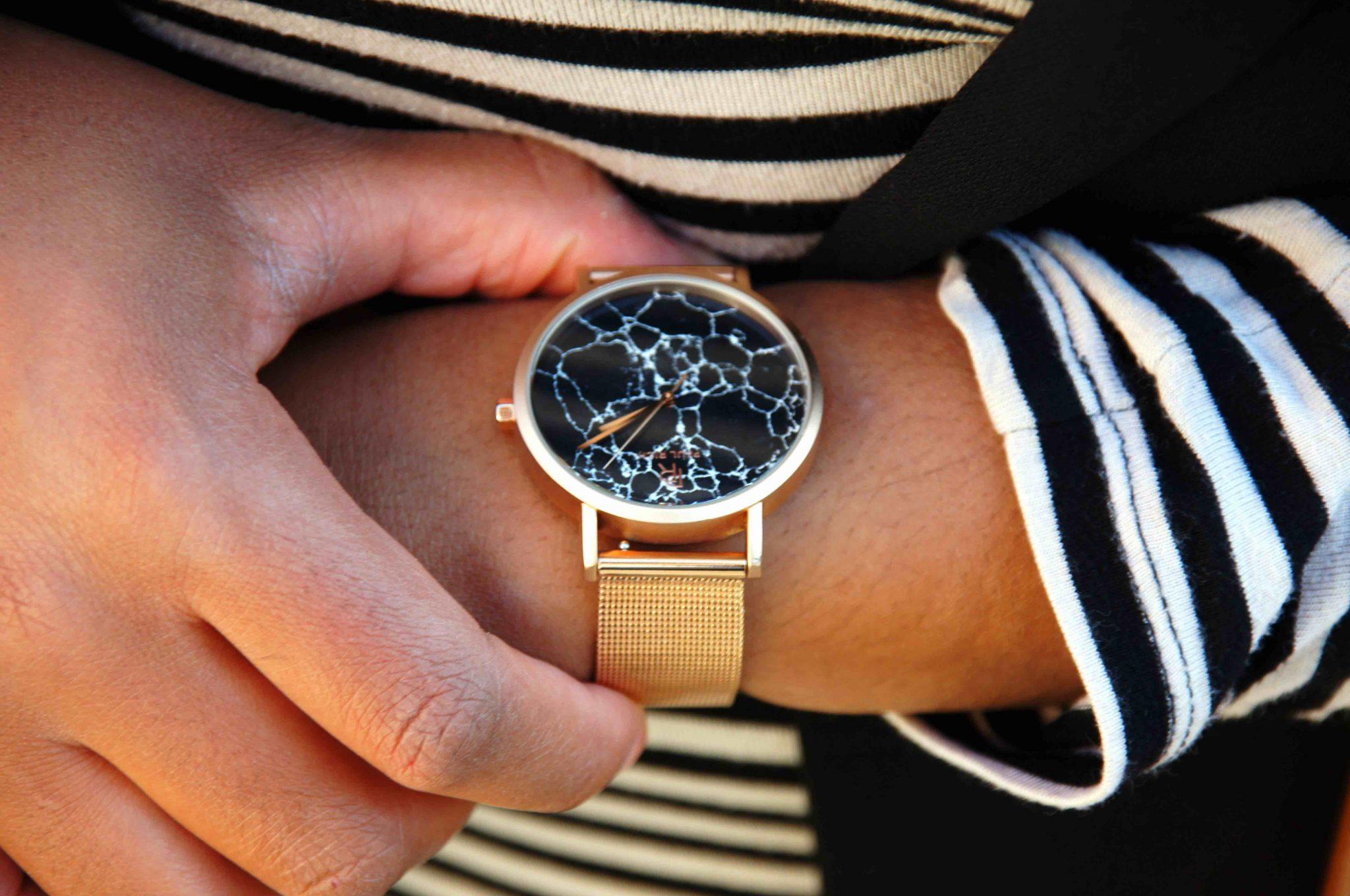Paul Rich Marble Watch