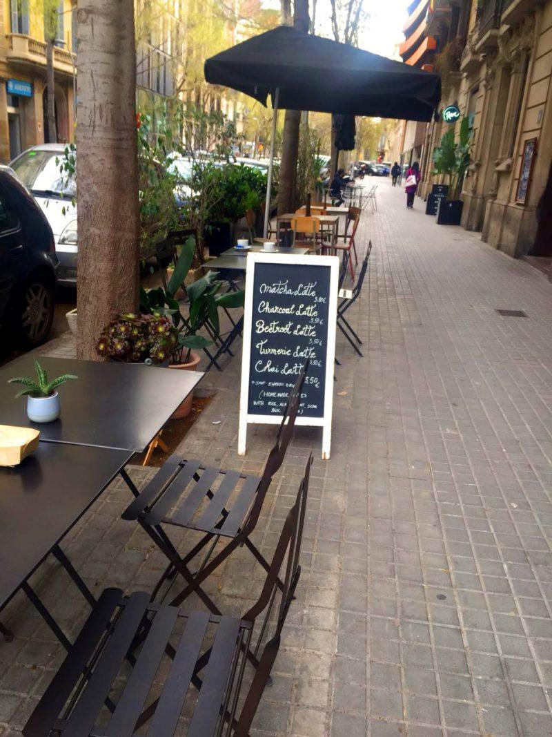 Monika Cafe in Barcelona