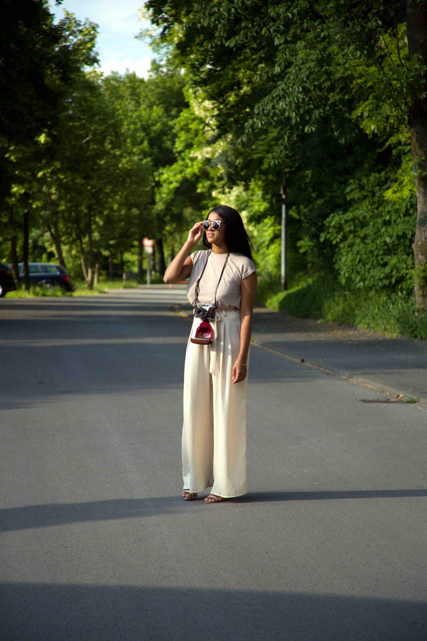 Nude Tones Outfit, Cream, Caramel, Neutral Beige Look