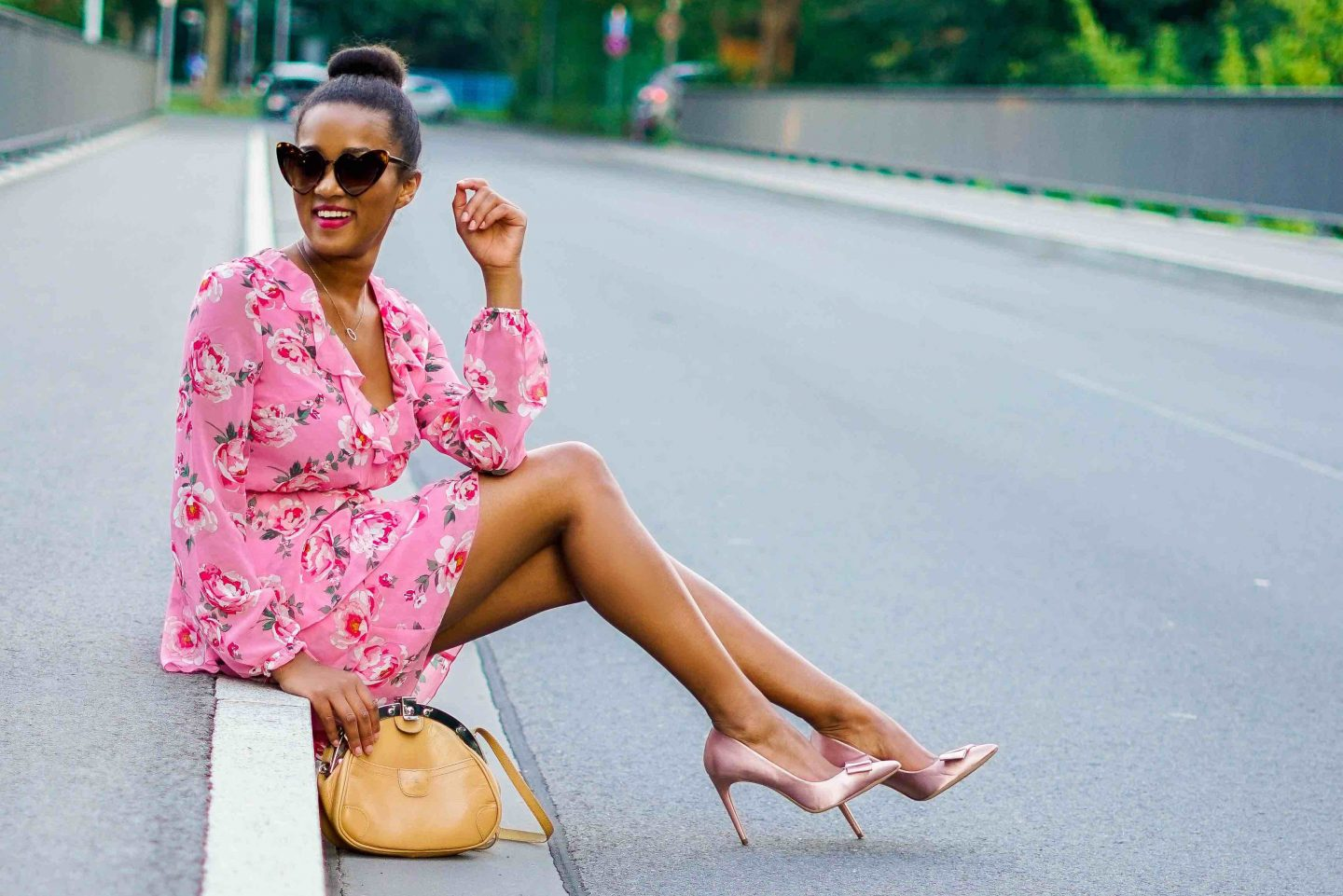 Flouncy, floral mini dress you need to have this summer