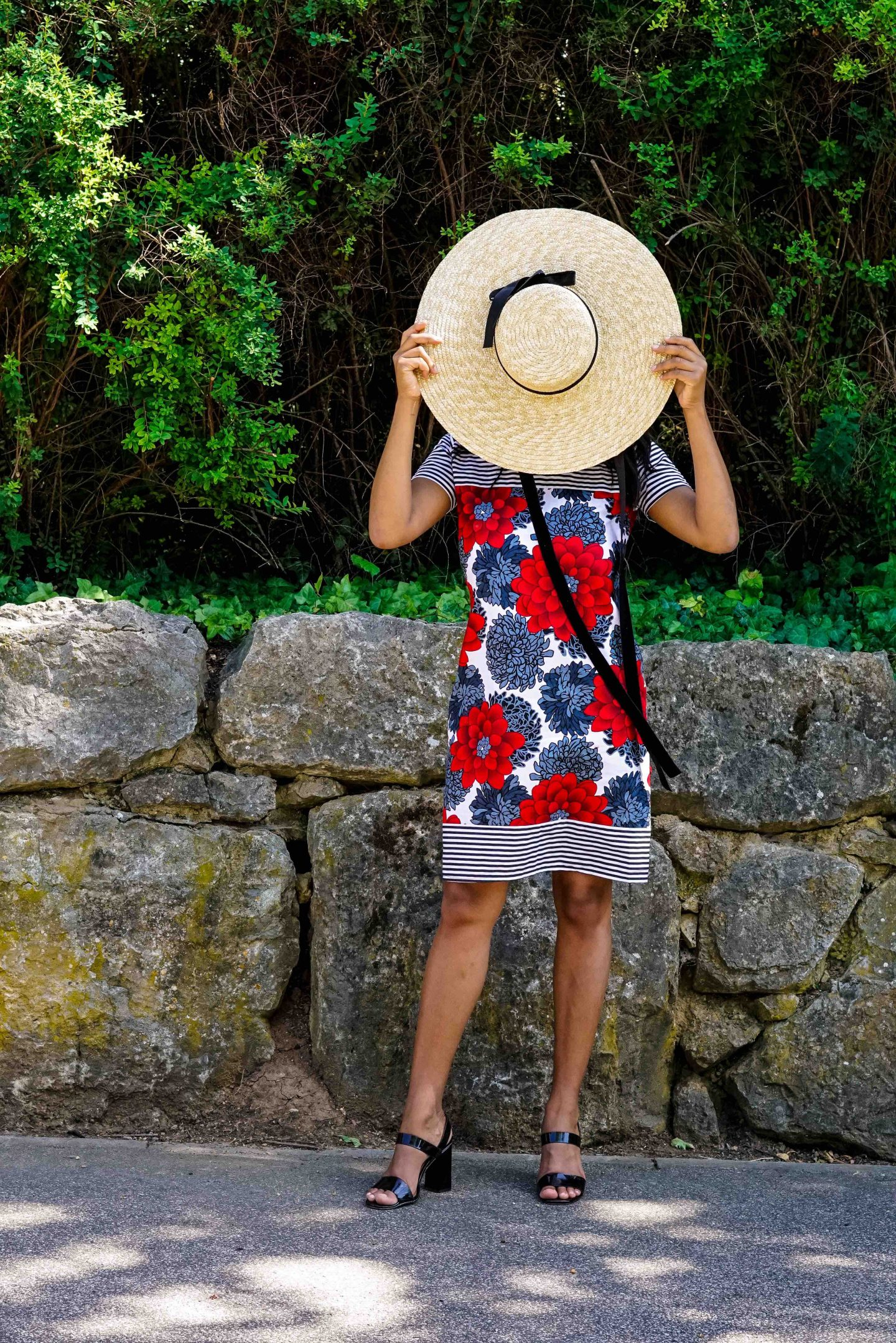 Hello Pattern!  Meet the African Shift Dress