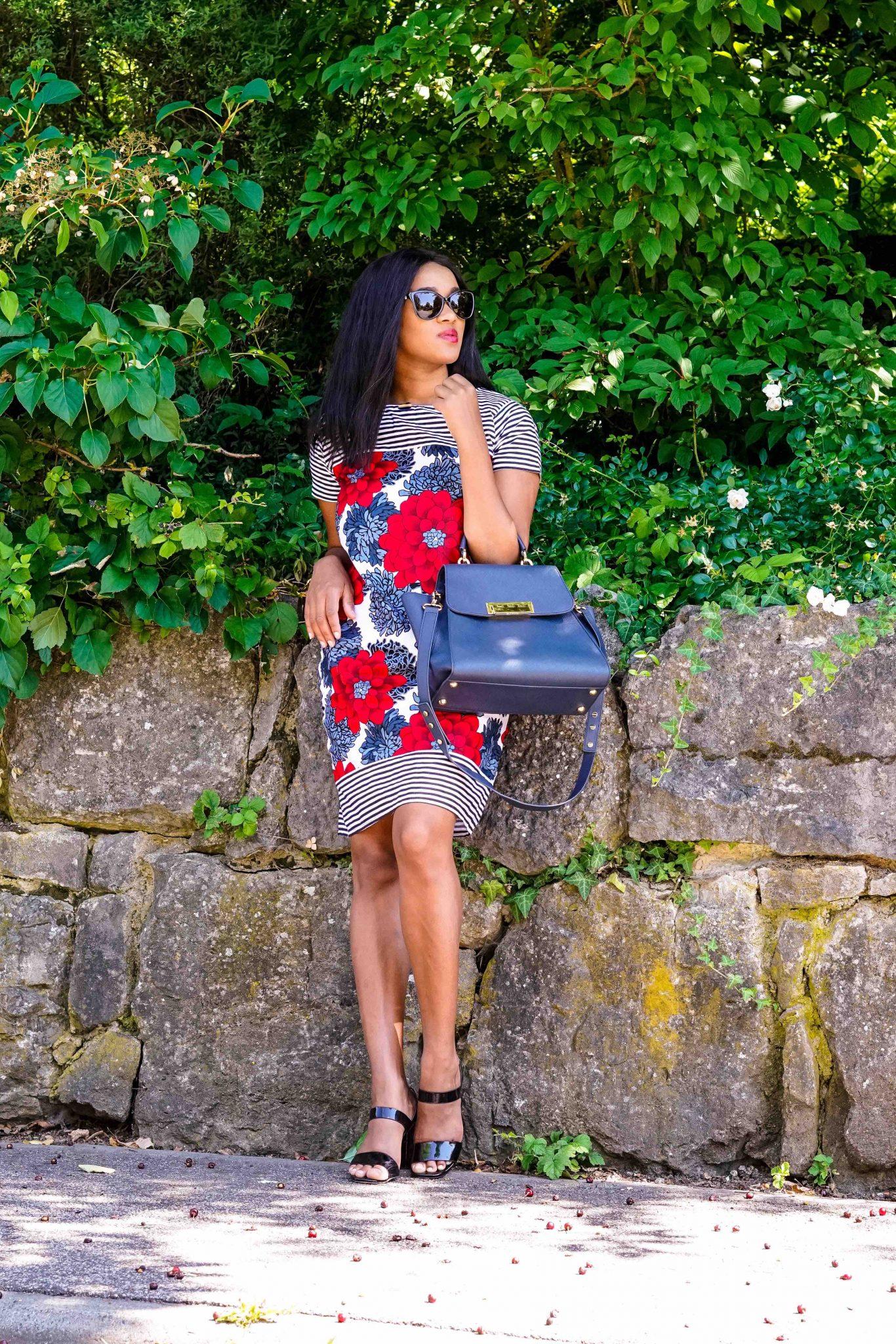 african shift dress