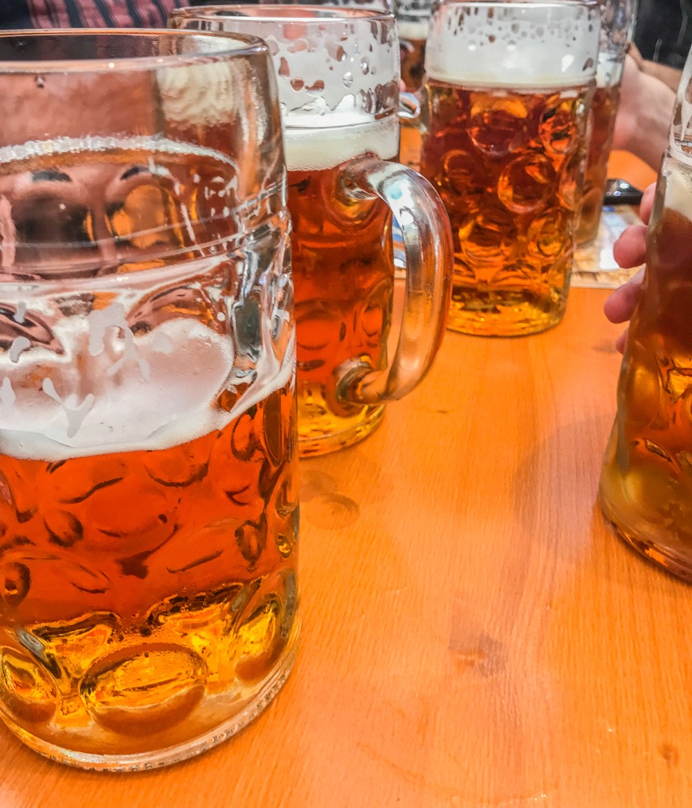 Mass Bier auf dem Oktoberfest 2019