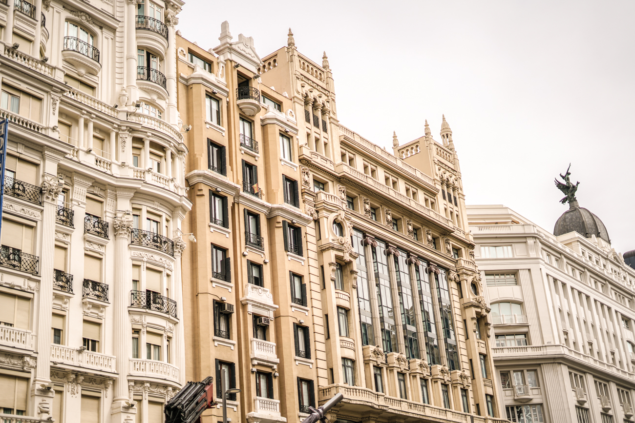 Gran Via Instagram worthy spots in Madrid