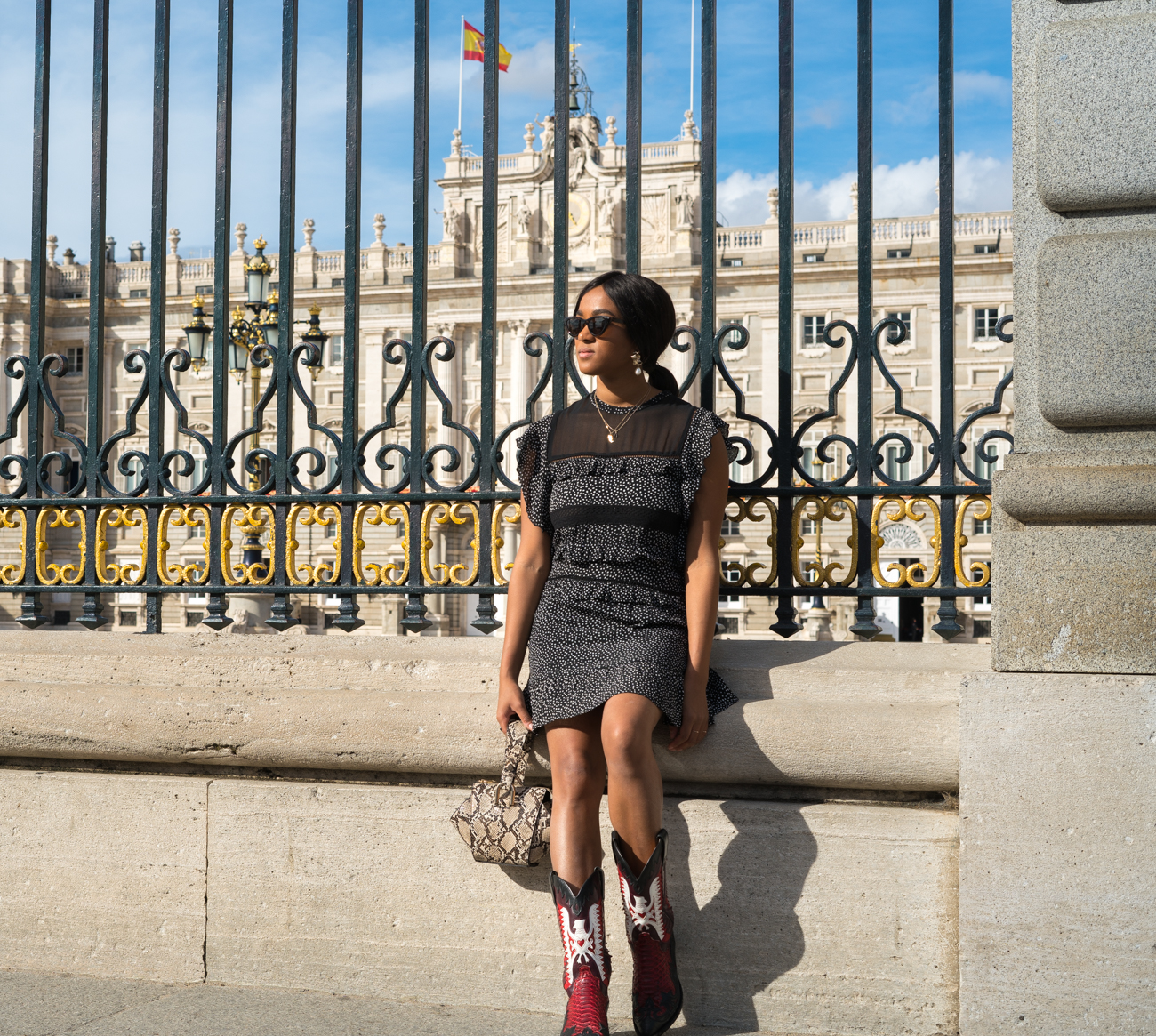 Palacio Real Instagram worthy spots in Madrid