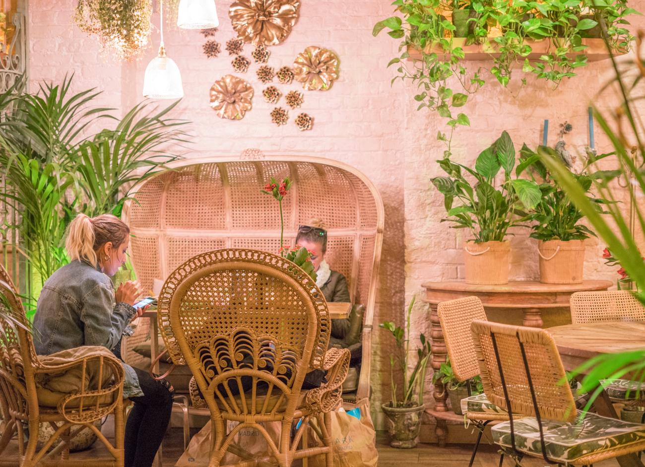 El invernadero de salvador bachiller Instagram worthy spots in Madrid