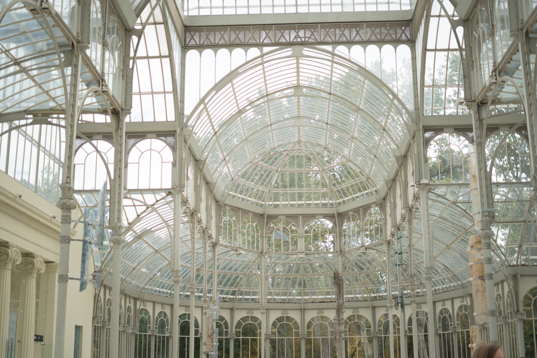 Palacio de Cristal Instagram worthy spots in Madrid