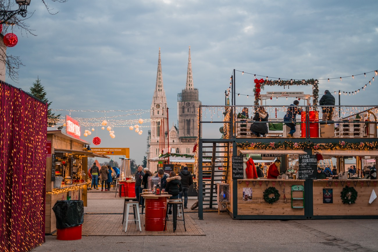 Christmas Market in Zagreb