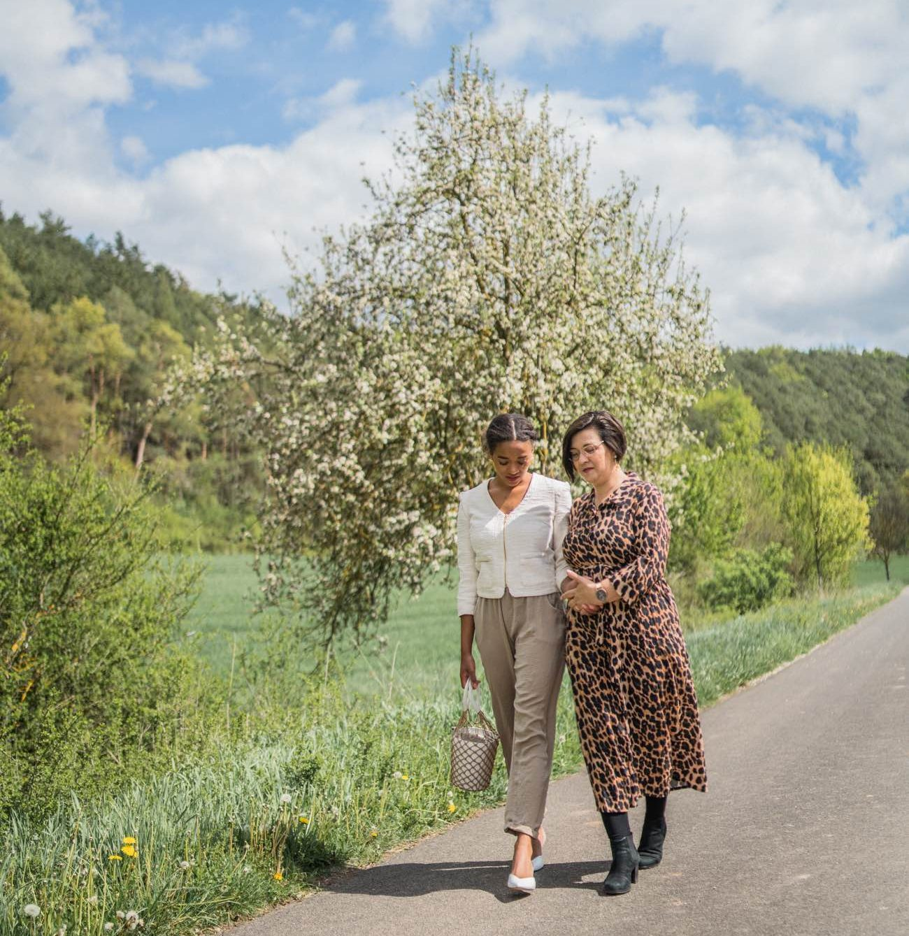 German Fashion and lifestyle blogger with her mother