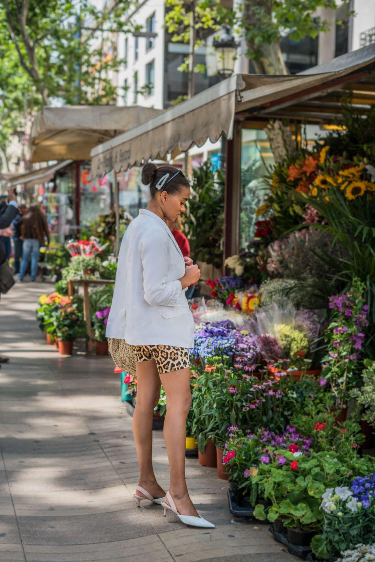 Bike shorts Trend in Barcelona