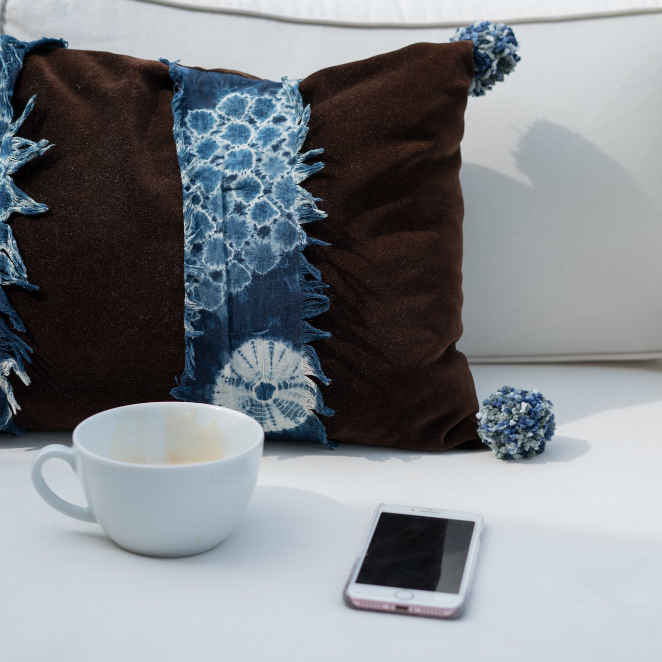 Tie dye pillow interior inspiration home