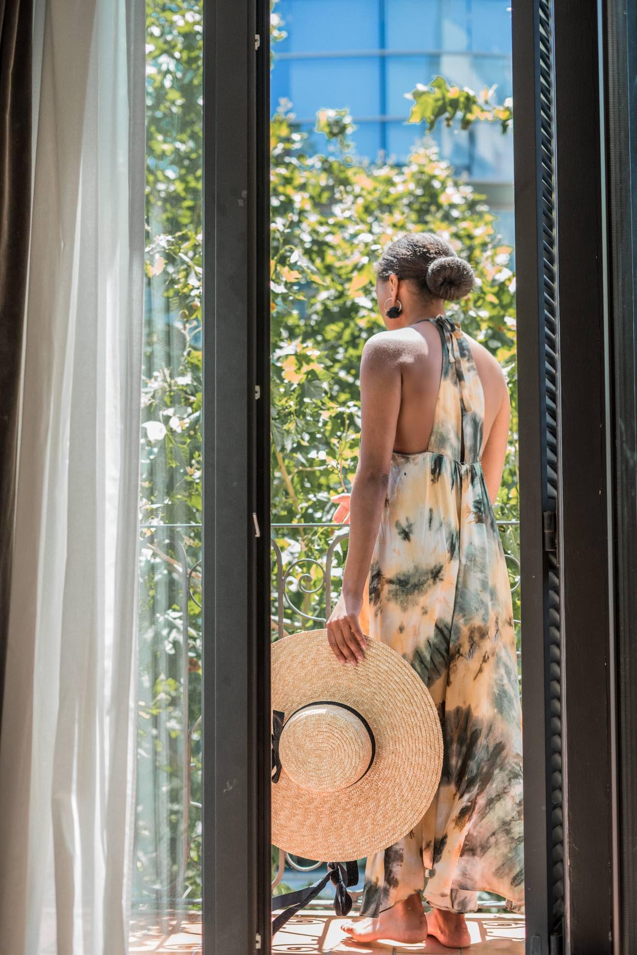 tie dye dress batik print