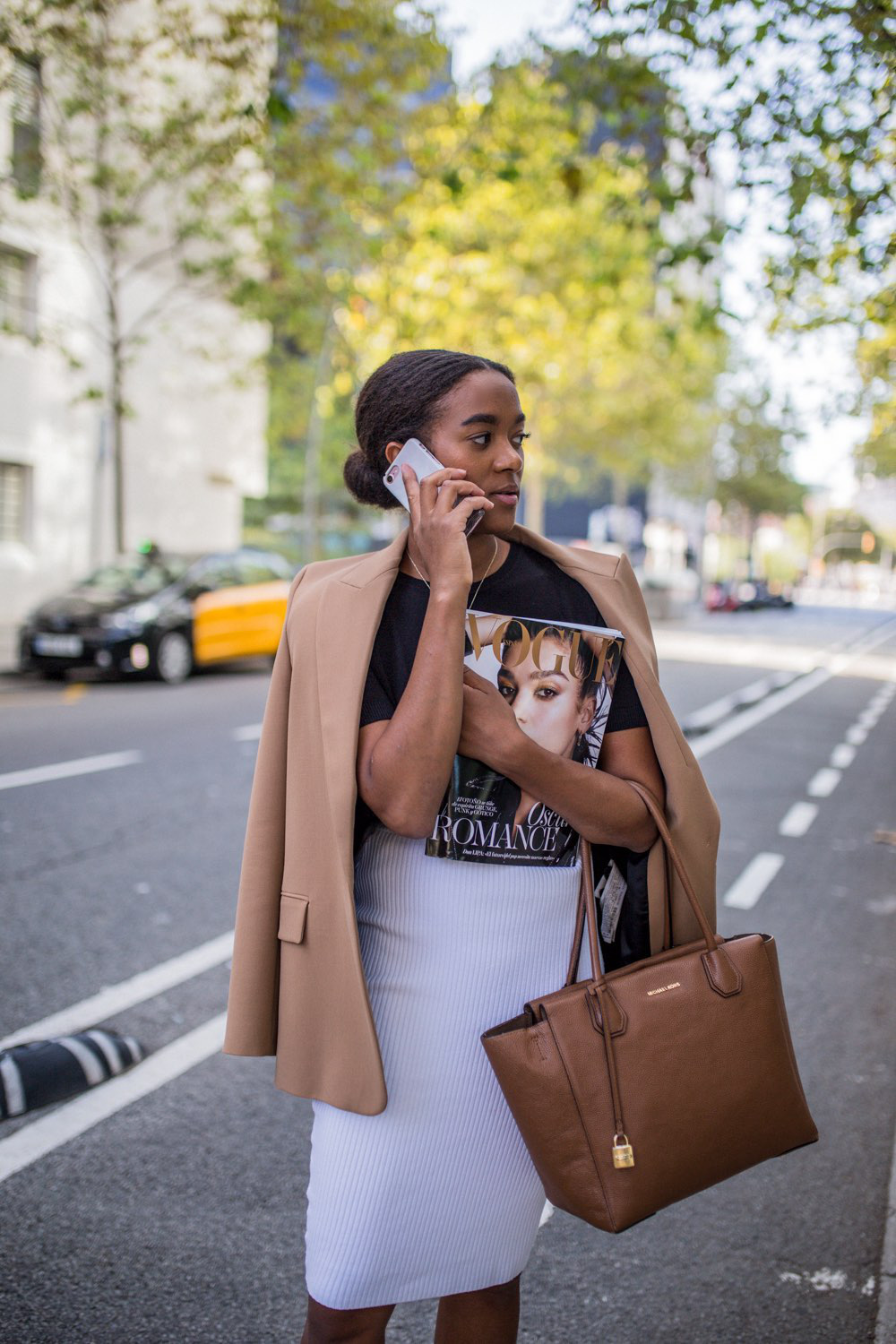 German fashion blogger in Barcelona