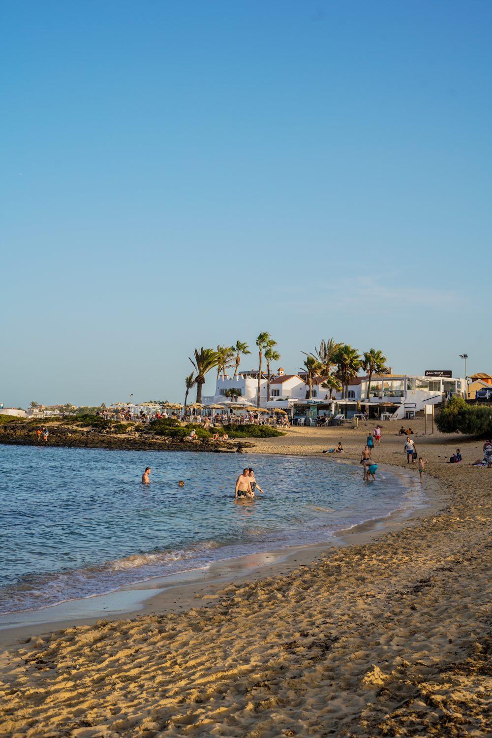 Fuerteventura Beach in Corralejo