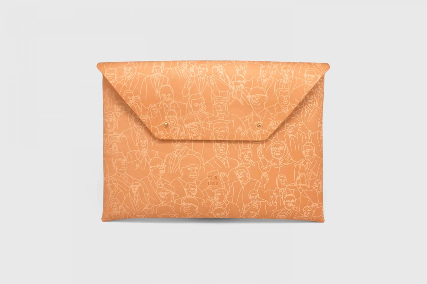real leather clutch Manuel Dressmann