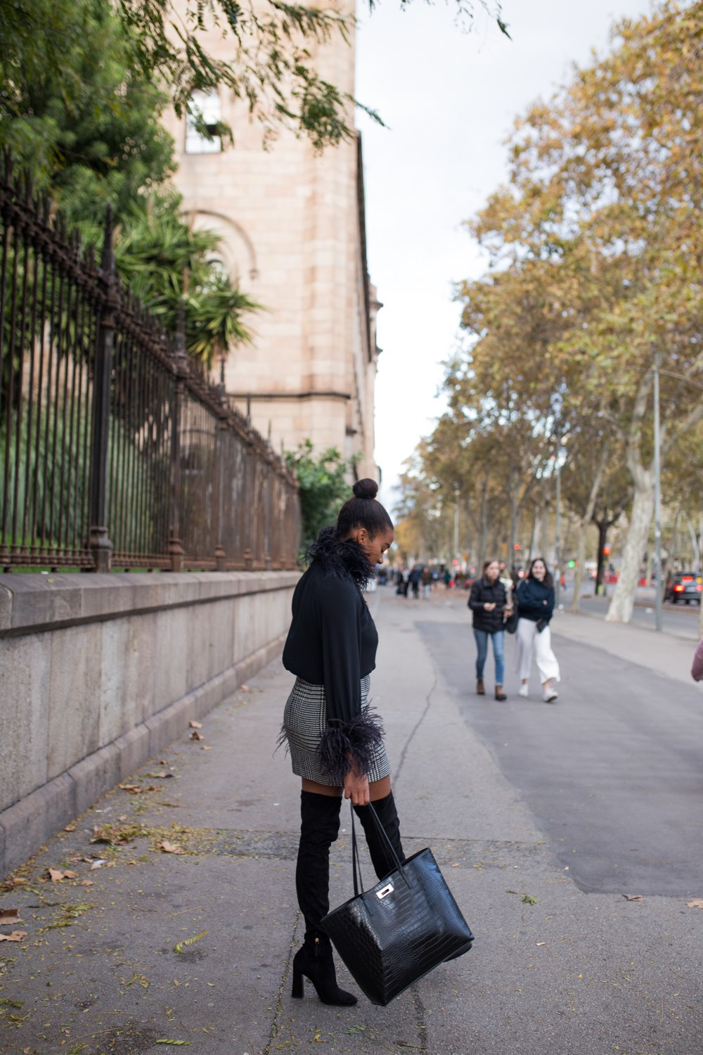 Barcelona blogger outfit streetstyle