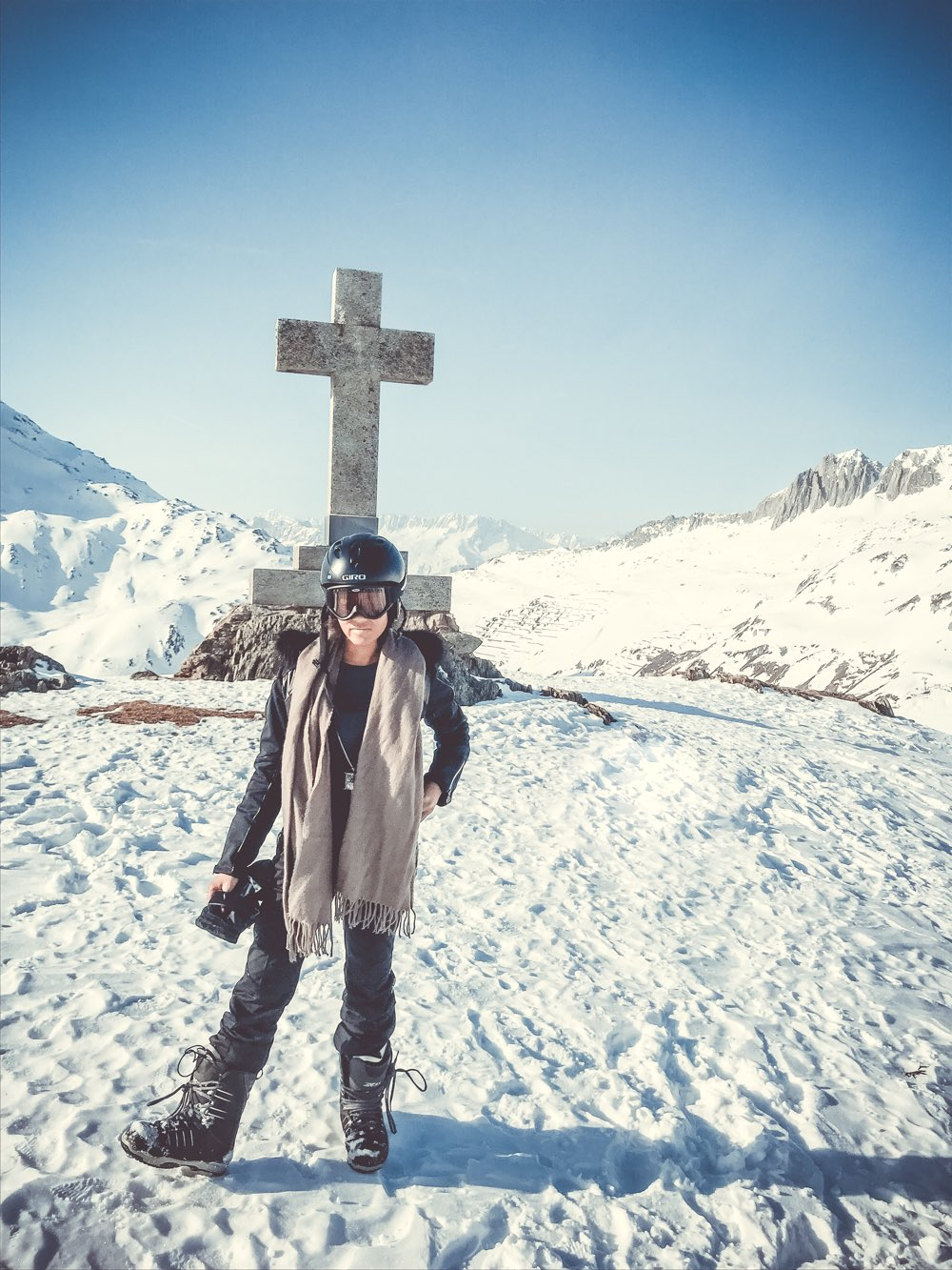 Skiing in switzerland, swiss alps, winter sport