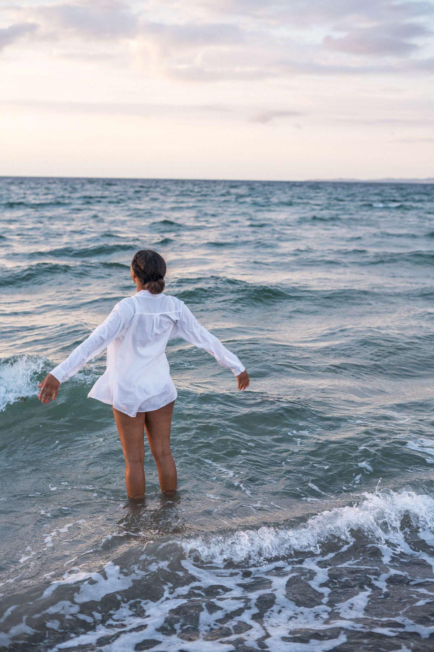 Vacation in Denmark Hygge Beach Hornbaek