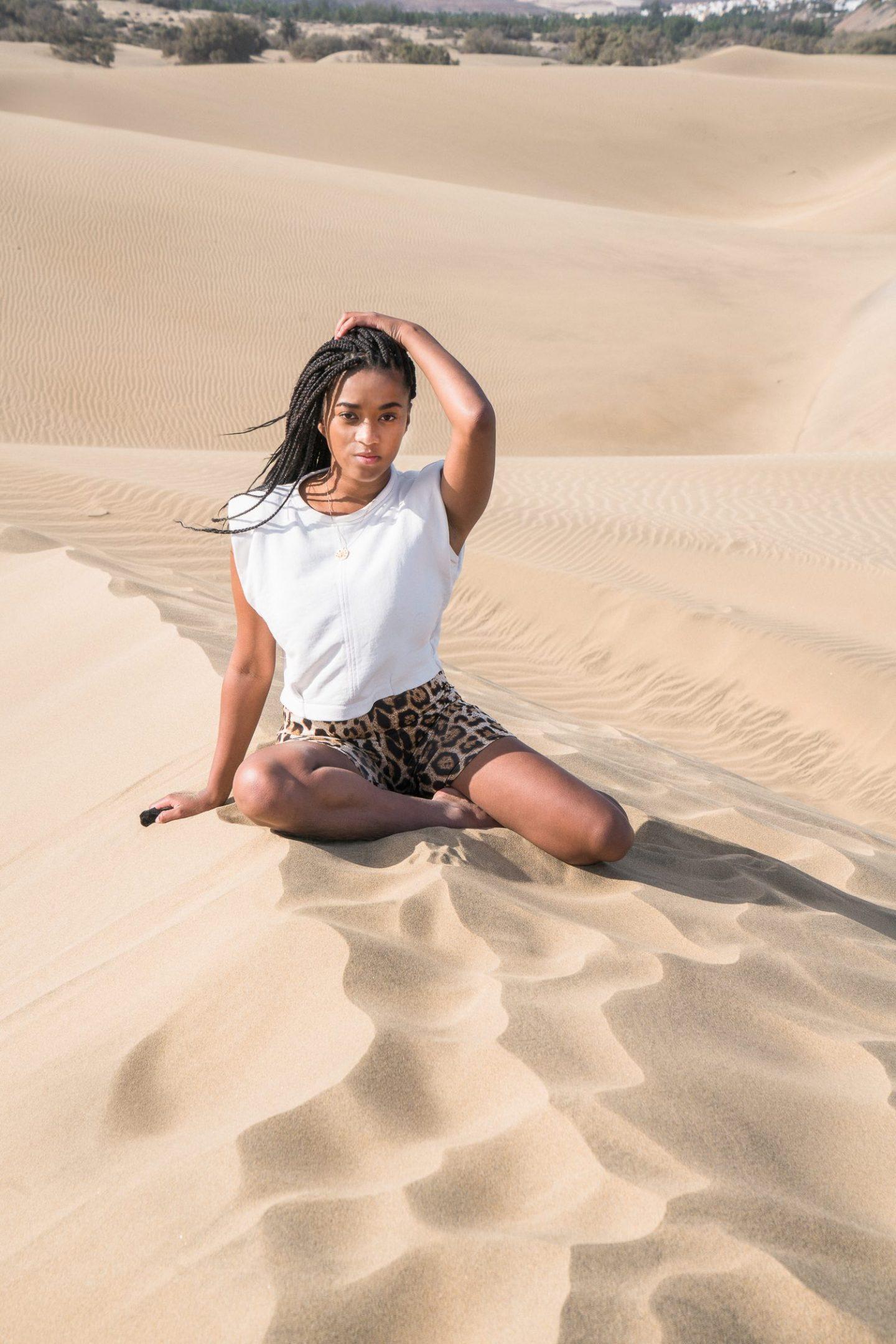 Sand dunes Photo Shooting
