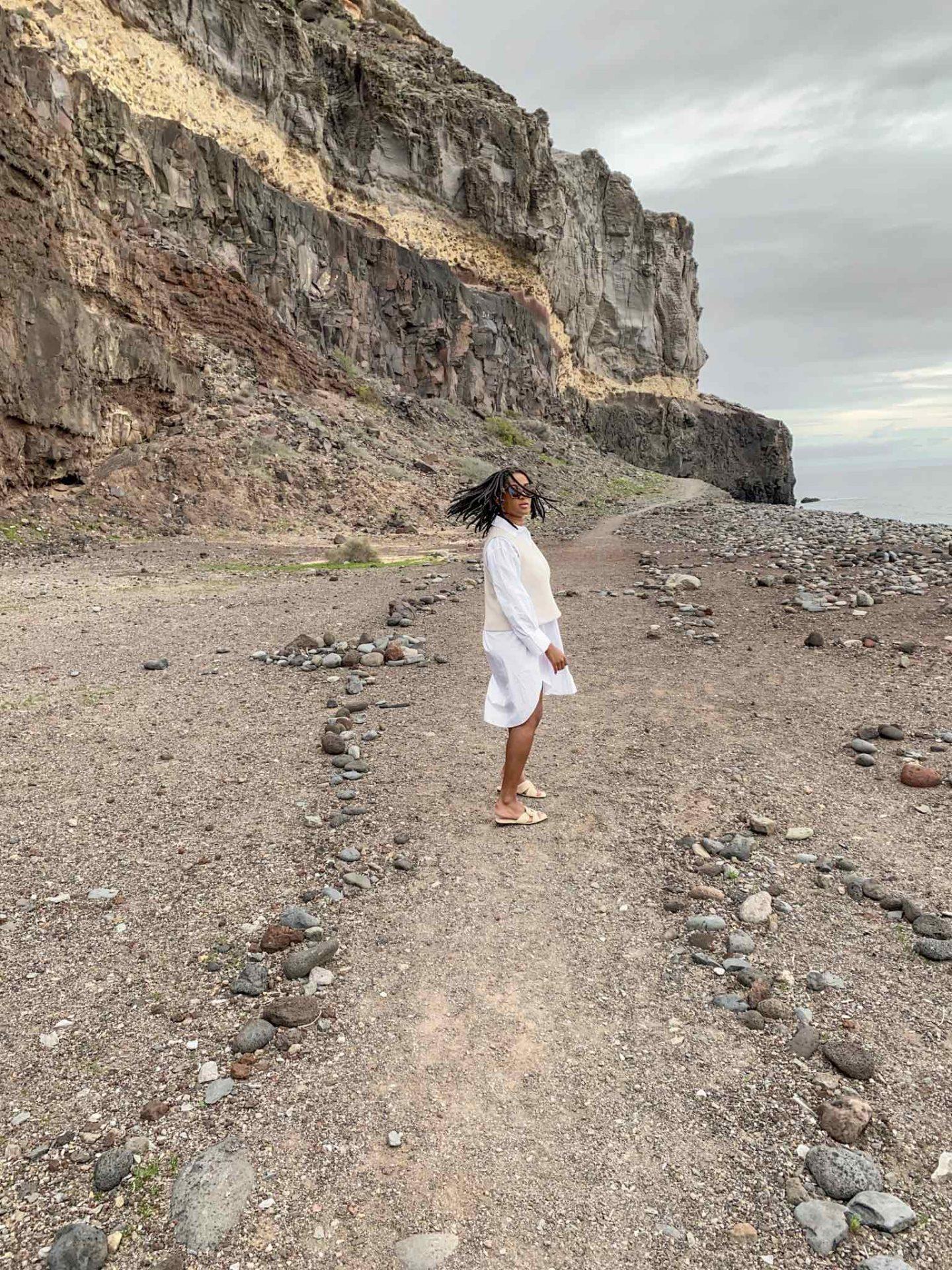 Gran Canaria Fashion Blogger sweater vest