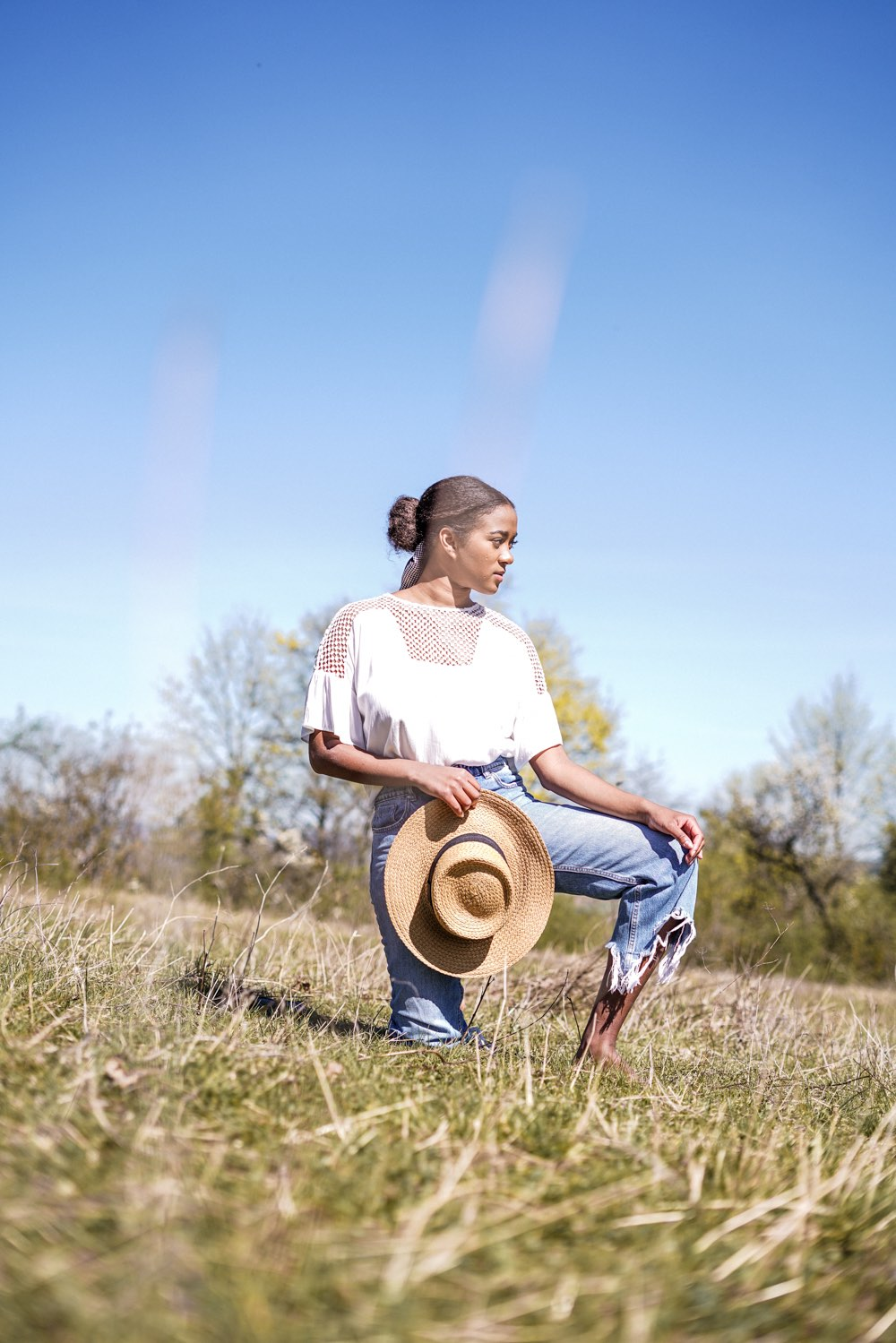 Favorite Spring Outfit, Frühlingslook white shirt, jeans,Staple Pieces for Spring