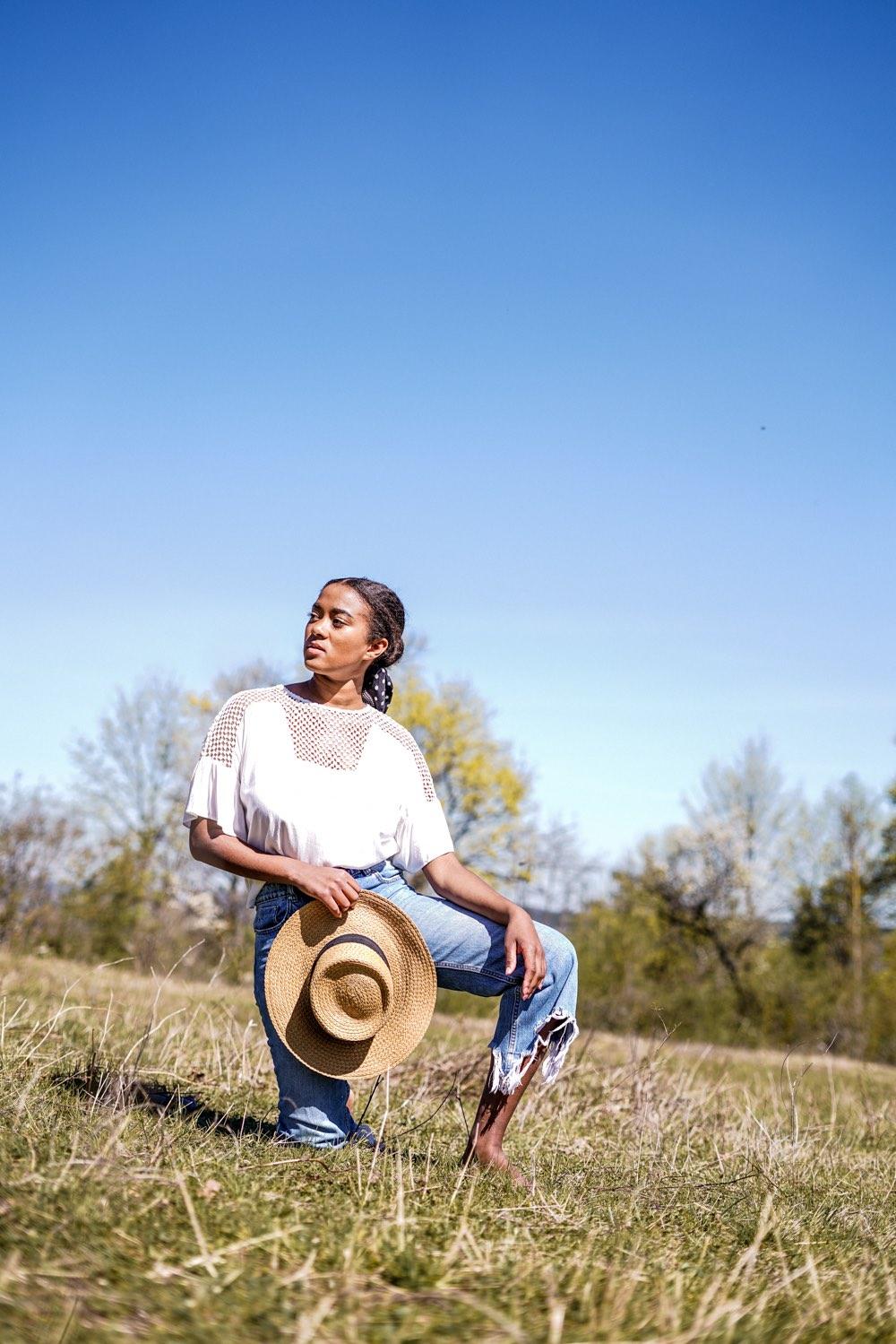 Favorite Spring Outfit, Frühlingslook white shirt, jeans,