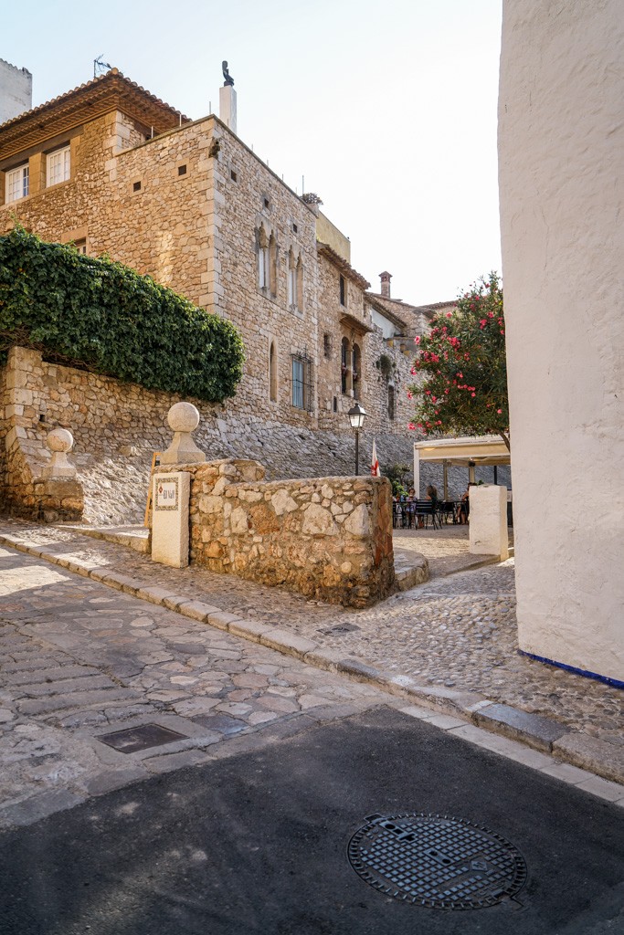 Sitges old town