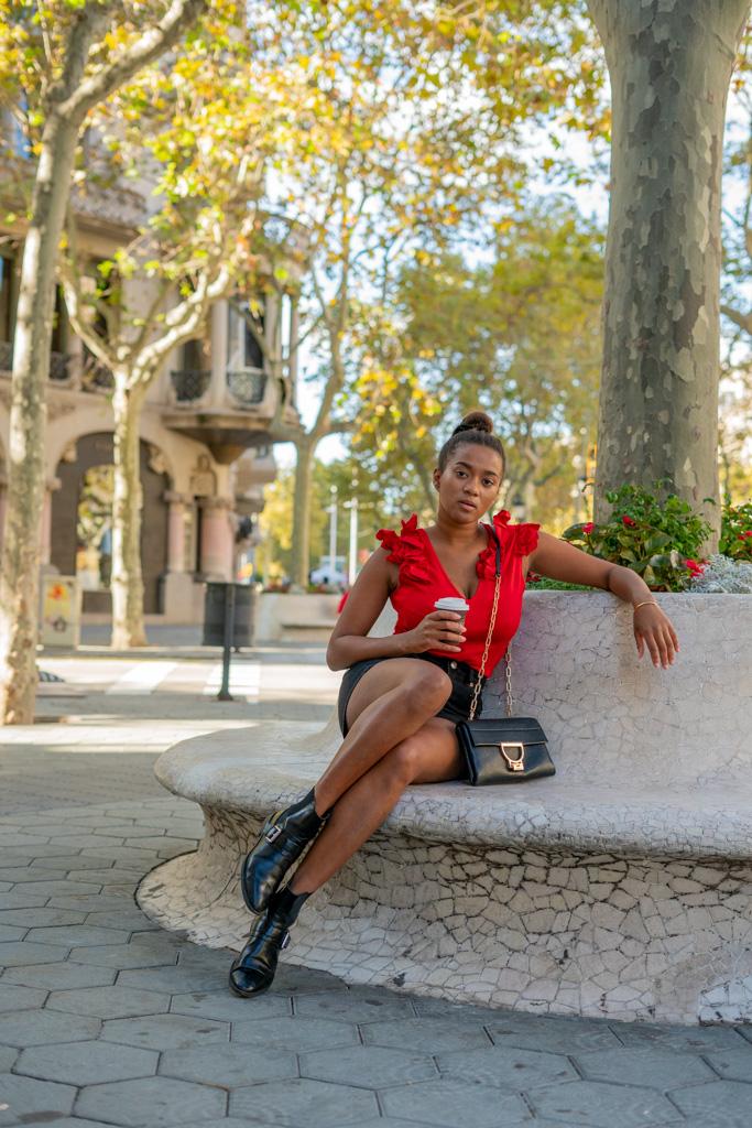 German Fashion Blogger Barcelona