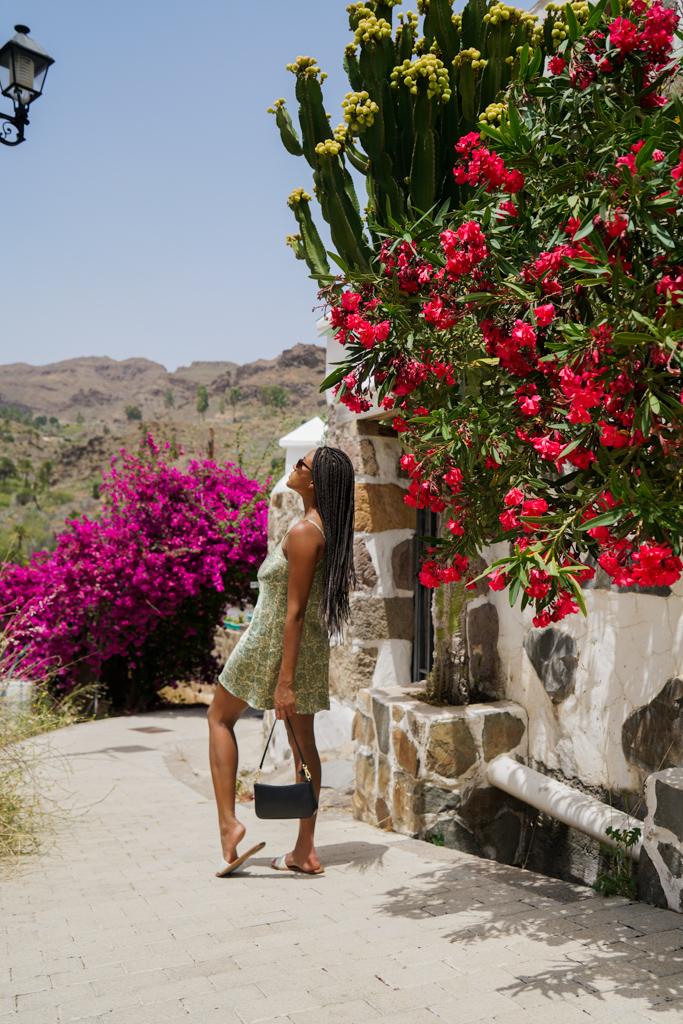 fashion blogger in Gran Canaria