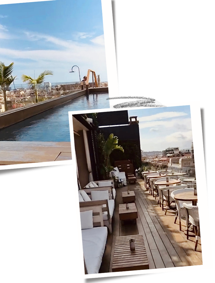 The Barcelona Edition best rooftop bars in Barcelona