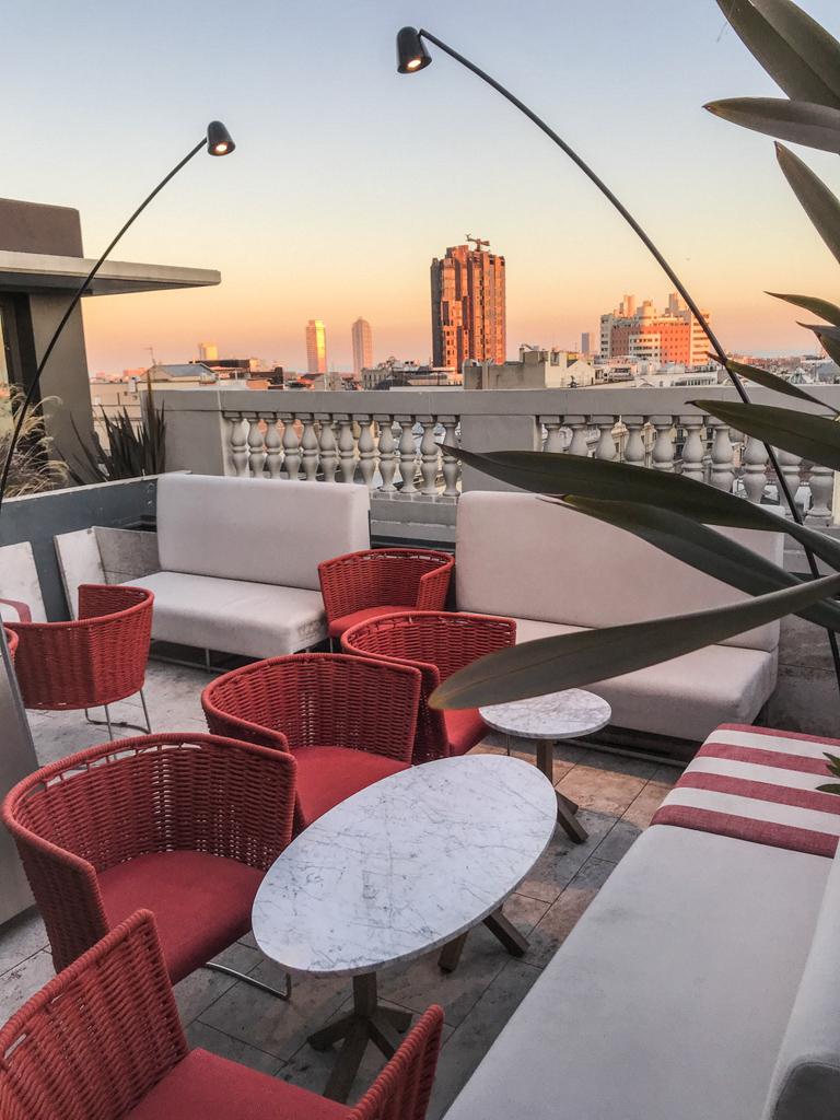 Almanac Hotel Calderon Rooftop Bar