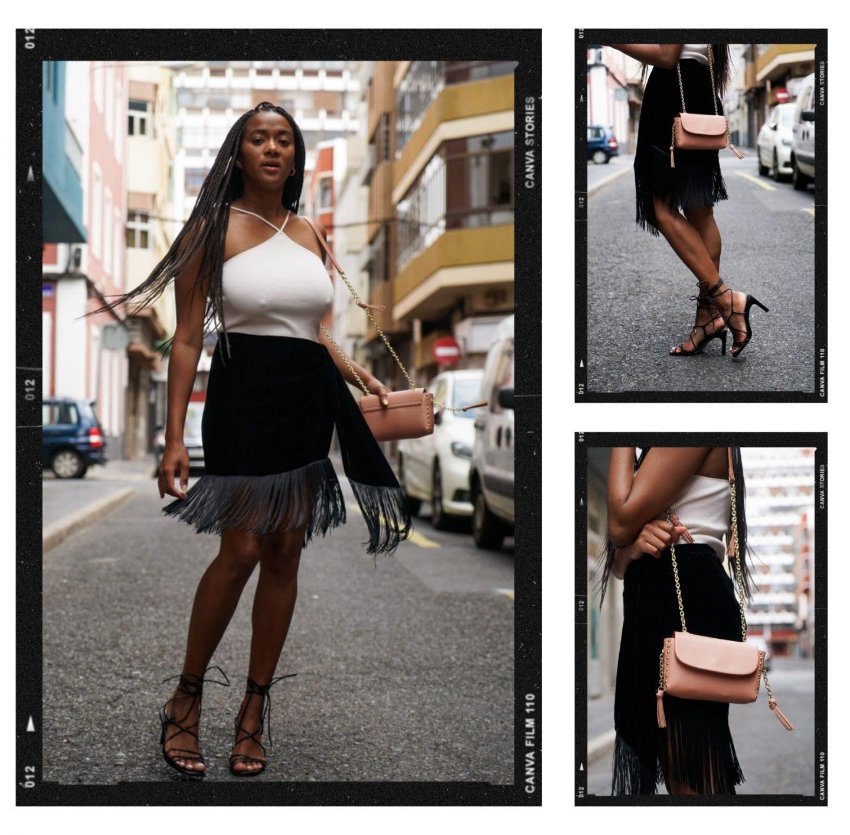 Fashion blogger Fringes street style