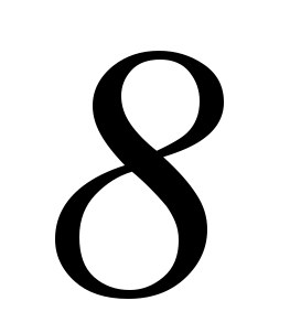 eight, 8 summer, number