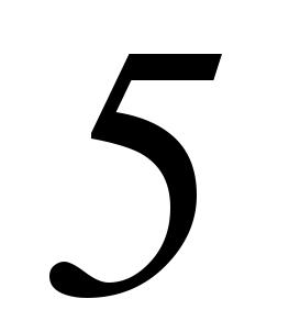 five, 5, summer number #