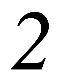 two, 2 number, number, #